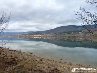 Ruta Turrón y Polvorón - Embalse Pinilla; calderona parque natural monte aloia tierra de pinares g